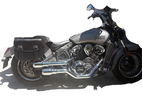 509 Throwover Motorcycle Saddlebags for Indian Scout